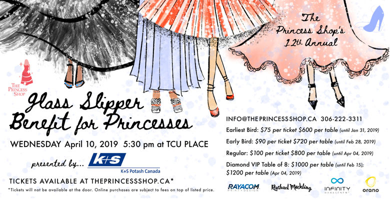 12th Annual Glass Slipper Benefit for Princesses